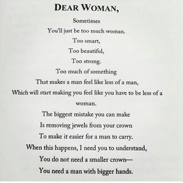 dearwoman