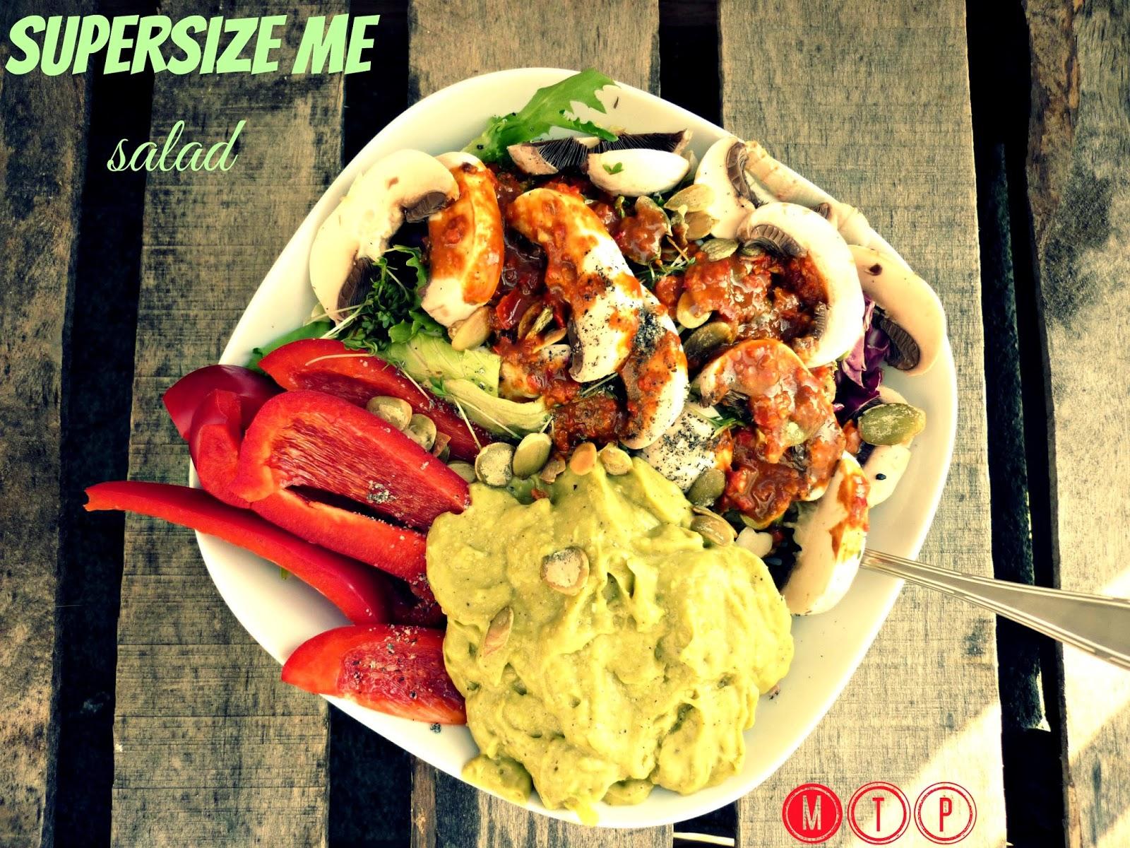 supersize me salad