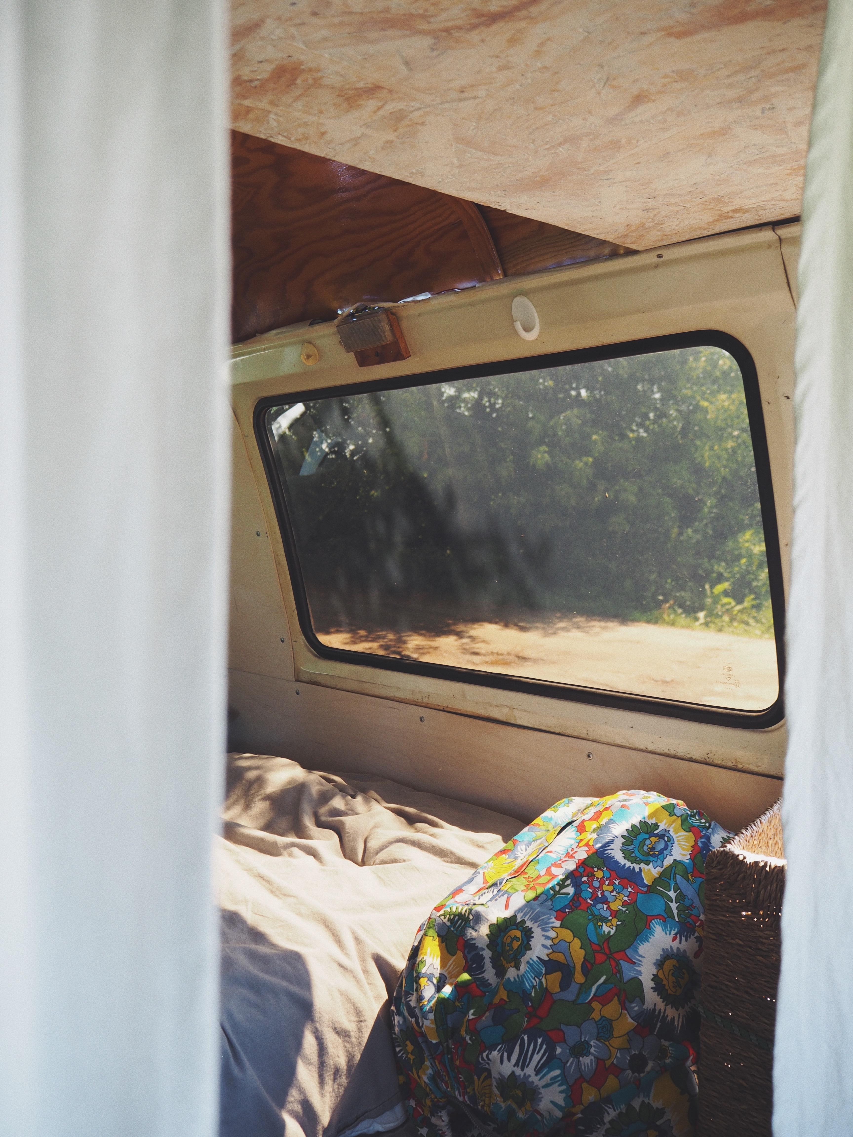 Pożyczyliśmy od sąsiadów ich vana, bo naszego Granda coś rozłożyło.