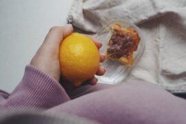 ciasto cytrynowe z imbirem