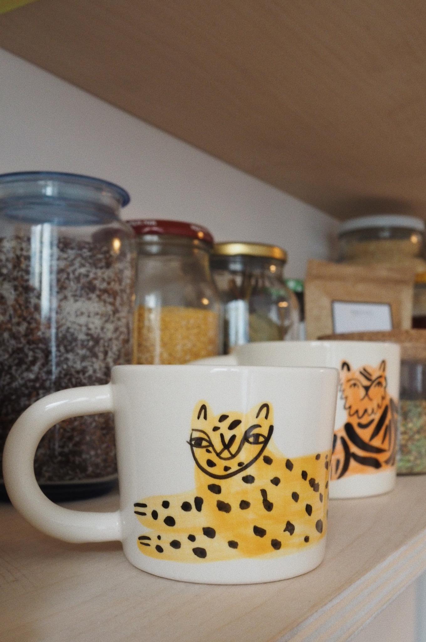 TRZASK ceramika kubki z dzikimi kotami