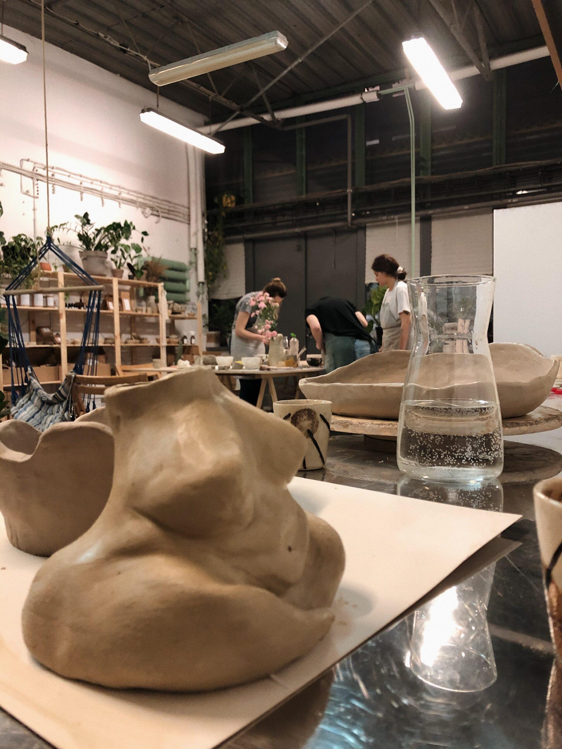 rzeźba ceramika